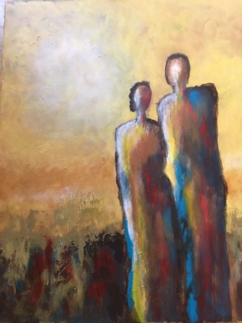 Denise Hames ~ Couple in the Sun